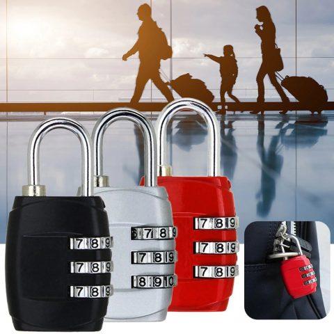 cadenas pour bagages à 3 chiffres