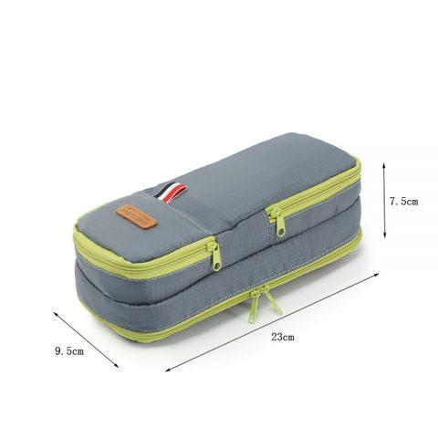 Mini trousse de toilette de voyage dimensions