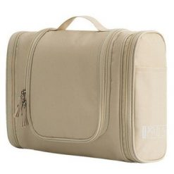 Trousse de toilette de voyage flying birds beige