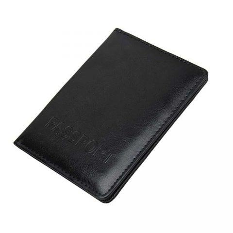 Protège passeport KuDian Bear noir