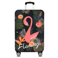 housses de protection pour valises flamant rose 2