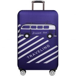housses de protection pour valises travelling violet