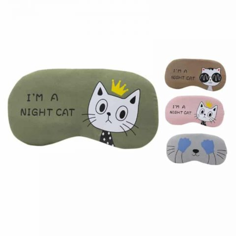 Masque de sommeil I'm a night cat