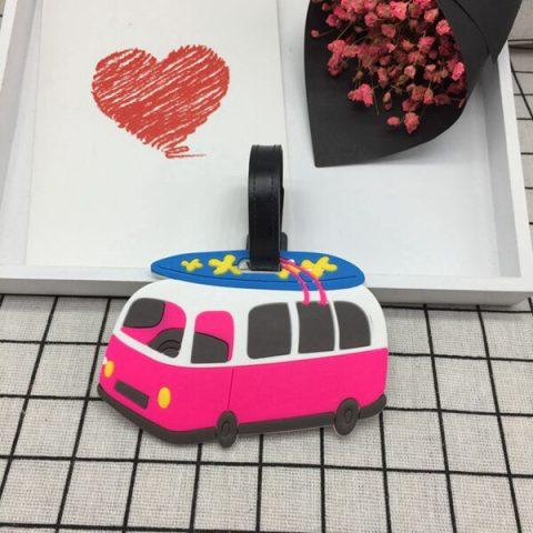 étiquette pour bagage minibus