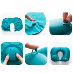 Kit confort voyage oreiller bleu = bouchons d'oreilles + masque de sommeil instructions