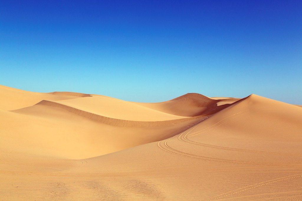 Les déserts en Egypte