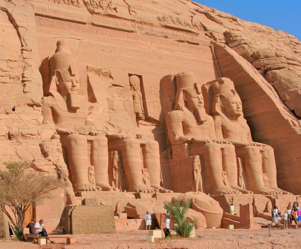 Le temple dAbou Simbel en Egypte