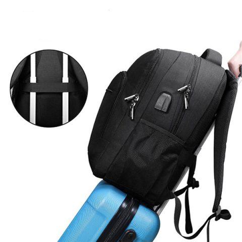 sac à dos multifonction grande capacité sur valise