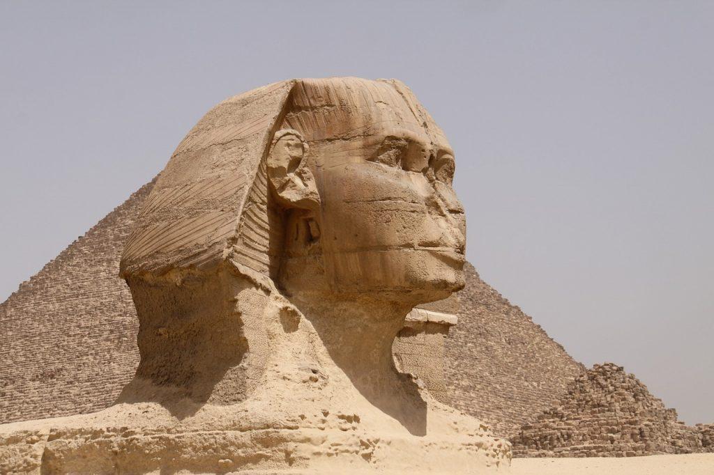 Voyager en Egypte : le sphinx